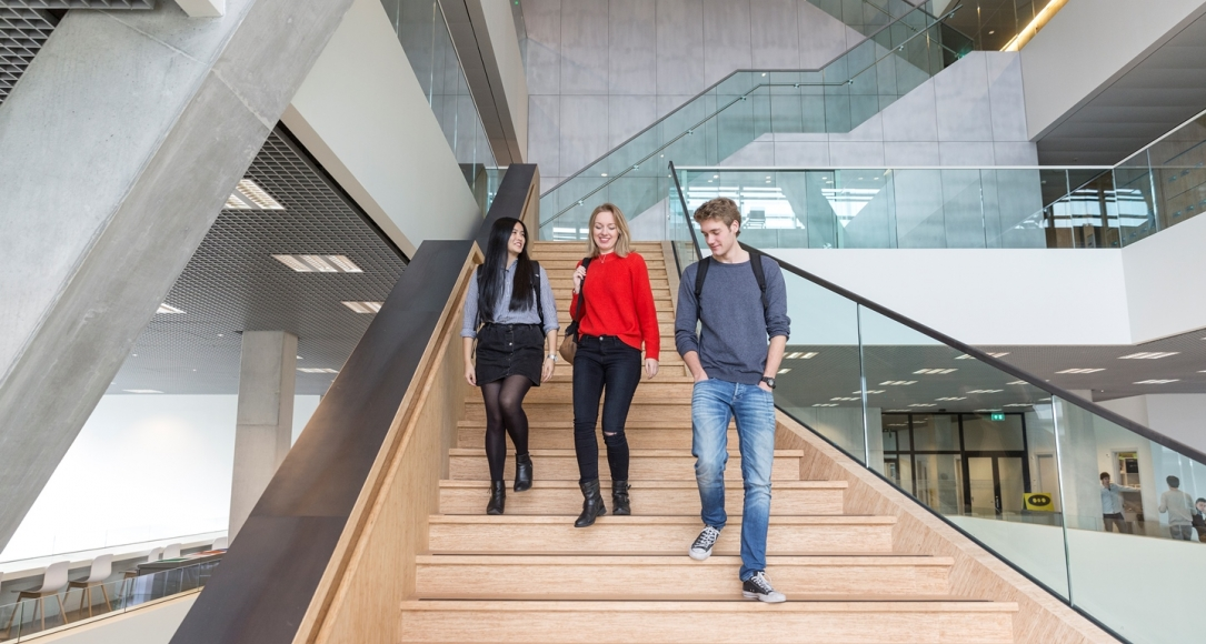 GSS students Koningsberger building