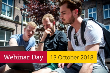 Bachelor's webinar day 13 October 2018