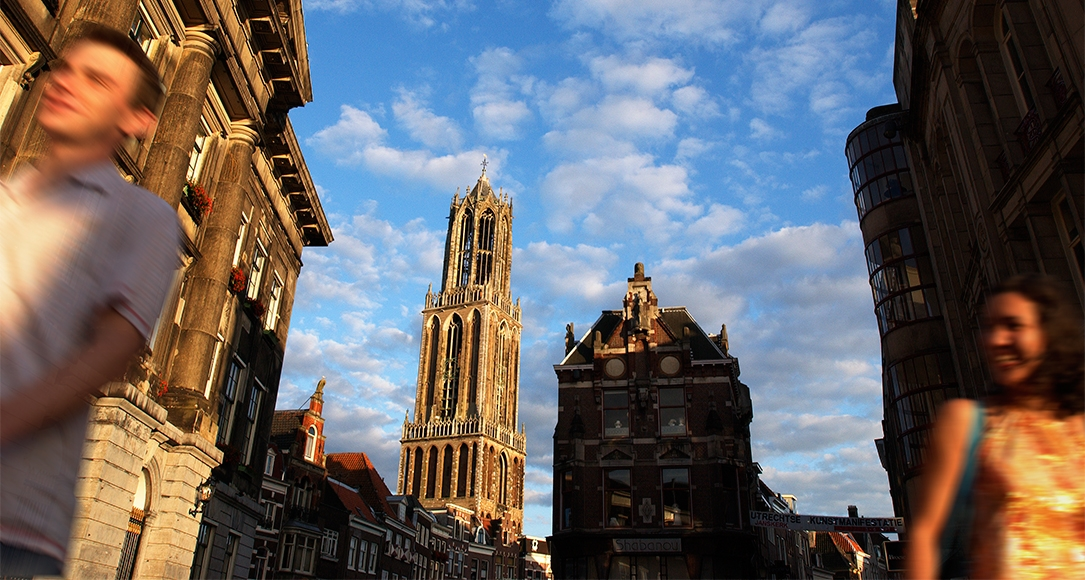 We are located in Utrecht City Centre