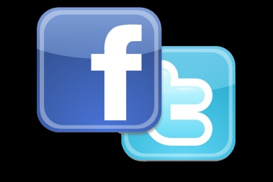 Facebook and Twitter