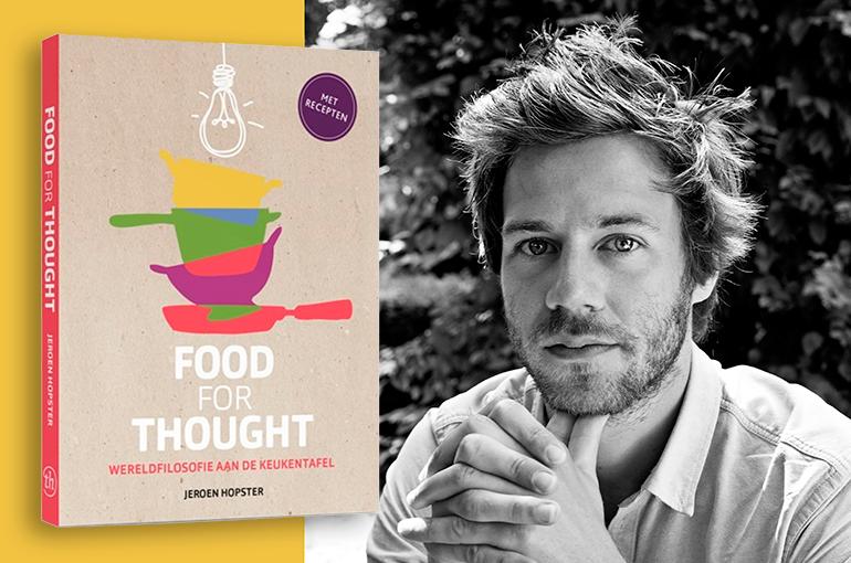 Filosofie Aan De Keukentafel.Filosoof Jeroen Hopster Werkt Mee Aan Tv Serie Food For