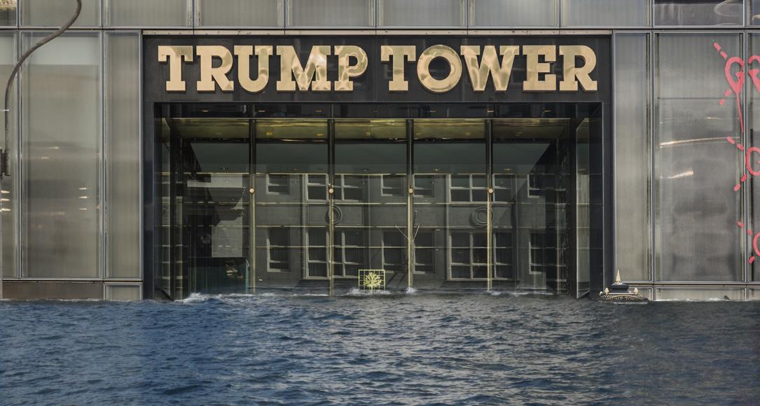 Als trump uit het klimaatakkoord stapt