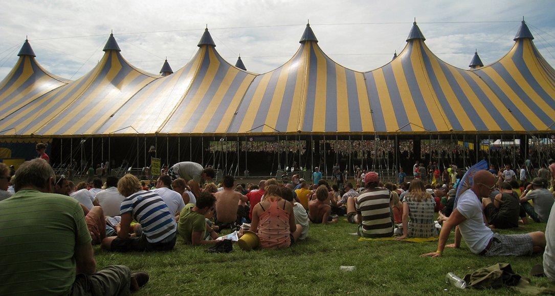 De Alpha tent op Lowlands. Bron: Wikimedia/Timster
