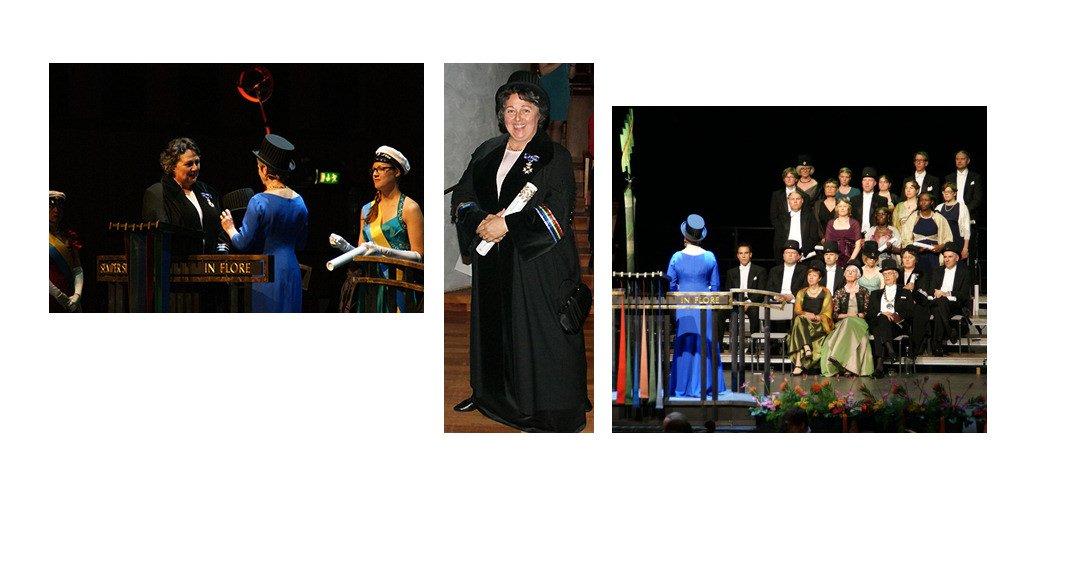 Rosi Braidotti krijgt eredoctoraat, foto's UU/Marlise Mensink