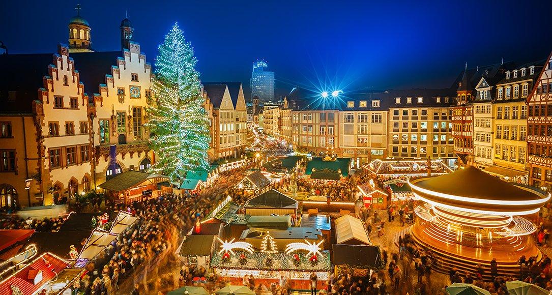 Kerstmarkt in Frankfurt © iStockphoto.com