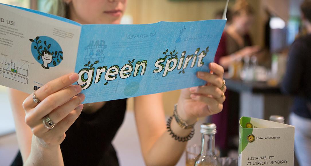 De Green Office organiseert onder andere bewustwordingscampagnes over duurzaamheid voor studenten.