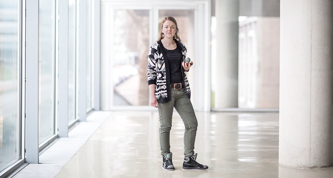 Karin van Trijp, winner of the 2015 Social-Achievements Award.