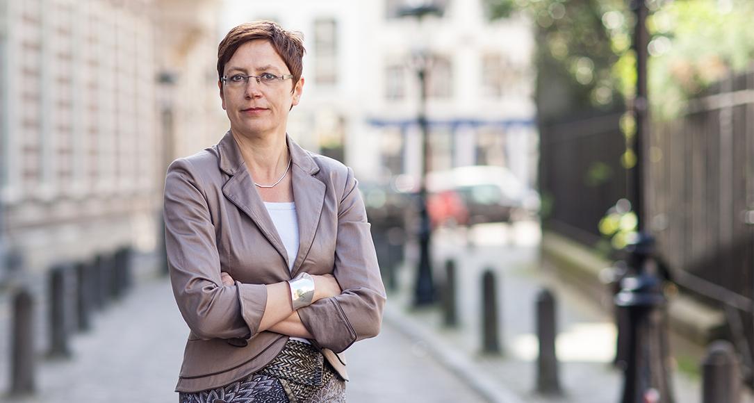 Linda Senden, hoogleraar Europees Recht.