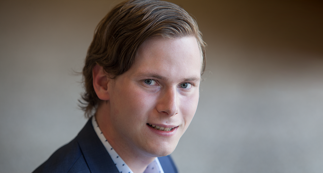 Portret van Roel Wouters.