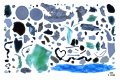 Photo collage of plastic fragments found in the Arctic Ocean. Photo: Andres Cozar.