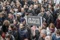 Charlie Hebdo-demonstratie in Parijs, 11 januari 2015 - Wikimedia Commons/Yann Caradec