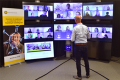 Onderwijs in de virtual classroom. Fotograaf: Fridolin van der Lecq