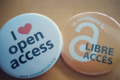 Open access buttons