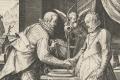 Allegorie op het huwelijk, Johann Sadeler (I), naar Frederik Sustris, 1588 – 1595. Bron: Rijksmuseum
