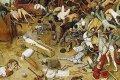 Triomf van de dood (circa 1562) - Pieter Bruegel de Oude. Bron: Wikimedia Commons