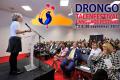 Prof. Beatrice de Graaf tijdens DRONGO talenfestival 2016. Foto: Henk Rougoor