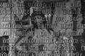 Gregoriusmis, schilderij onder het tekstbord. Montage van de opnamen met infraroodreflectografie (door Ige Verslype), Jacobikerk, Utrecht. Bron: verborgenschilderij.sites.uu.nl