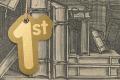 Boeken op een plank. Magdalena Roghman, naar Claes Jansz. Visscher (II), 1650. Bron: Rijksmuseum.nl