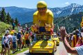 Publiciteitskaravaan Tour de France © iStockphoto.com/Razvan