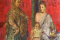 Romeinse fresco in Pompeii © iStockphoto.com/Flory