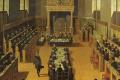 Synode van Dordrecht (1618-1619) door Pouwel Weyts (1621). Bron: Wikimedia