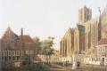 Sint Jacobskerk in Utrecht (1780) - Centraal Museum Utrecht. Bron: Wikimedia Commons/T. Schollen