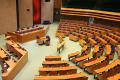 Een lege Tweede Kamer