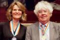 Caroline de Gruyter and Geert Mak