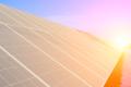 zonnepanelen in de zon