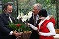 Burgemeester Van Zaanen doopt de Phalaenopsis 'Queen Maxima'