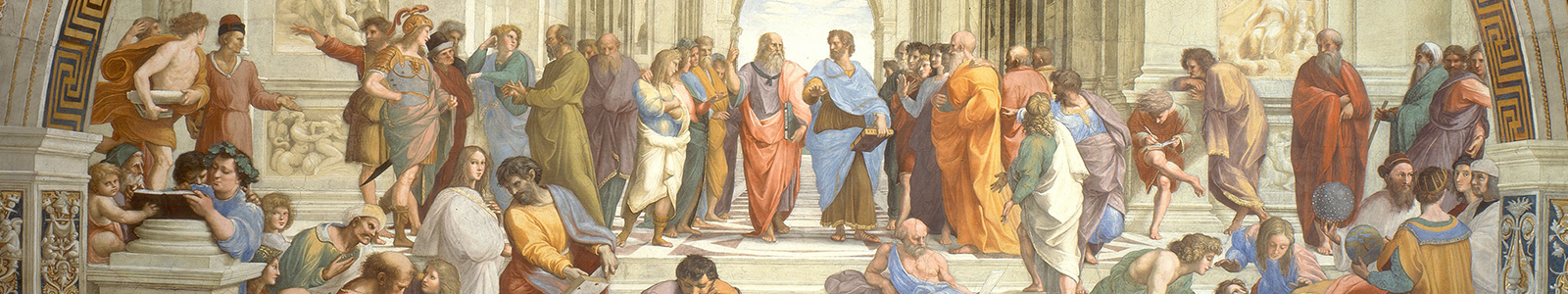 The School of Athens by Raffaello Sanzio da Urbino
