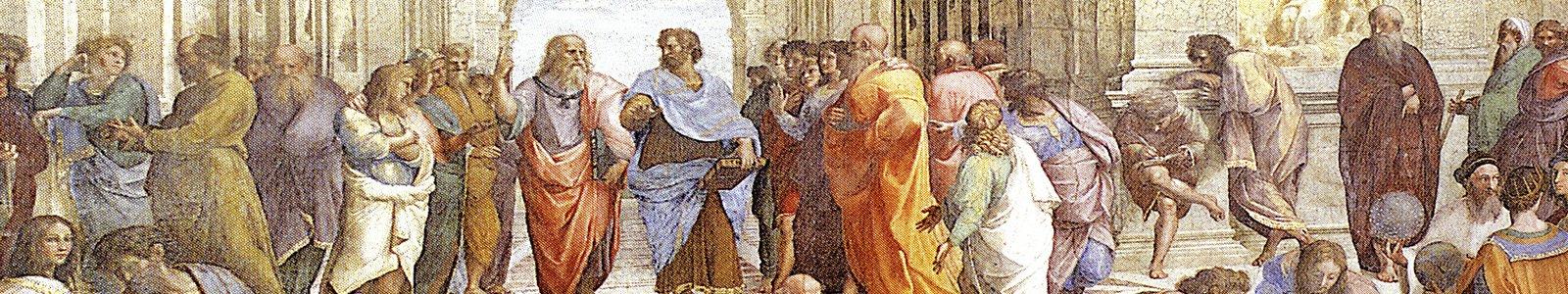 Plato spreekt mensen toe