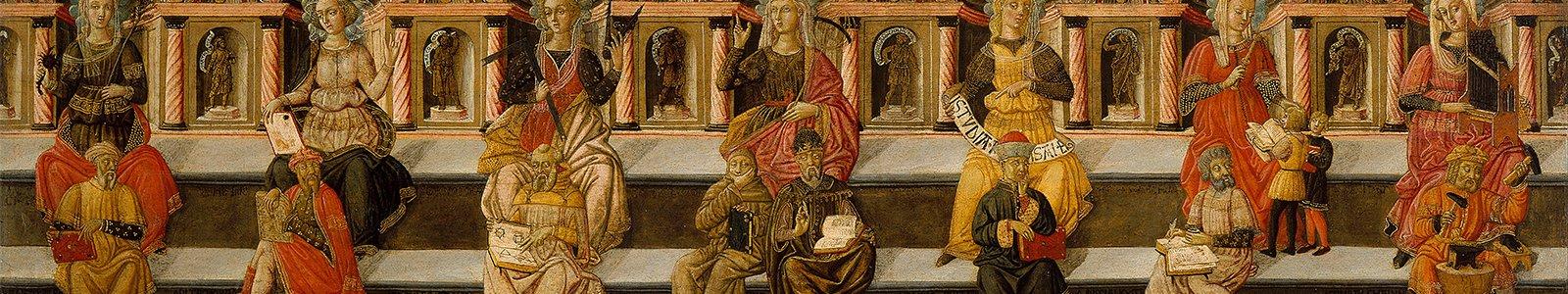The Seven Liberal Arts - artist: Giovanni di ser Giovanni Guidi. Photo: Wikimedia Commons