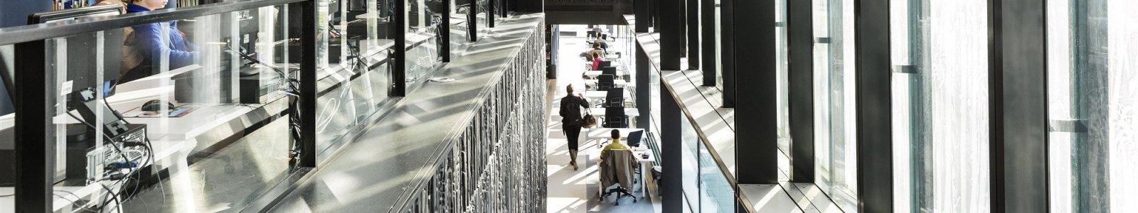 Universiteitsbibliotheek Utrecht USP doorkijk ramen
