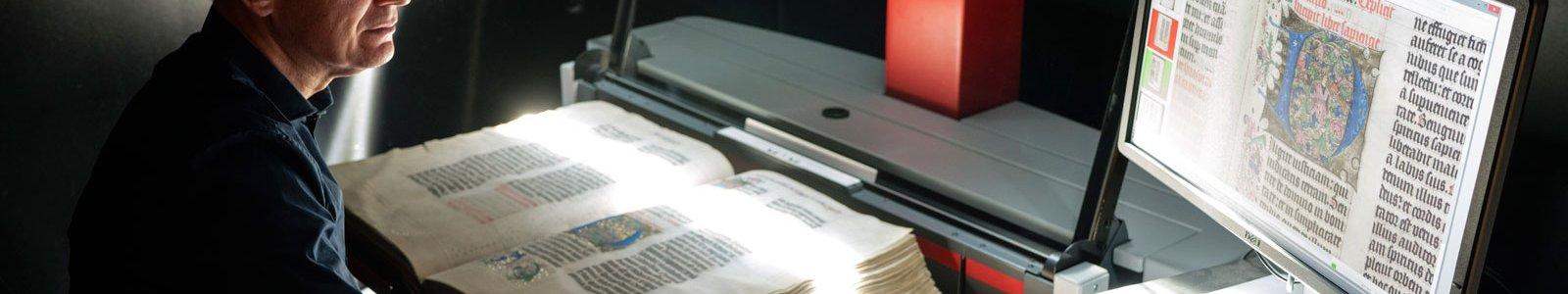 scanner bijzondere collecties handschrift