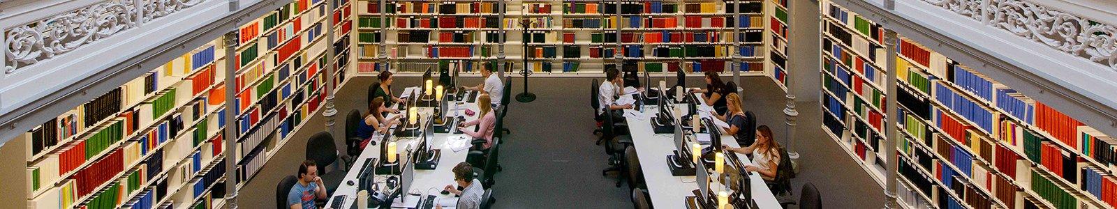 de Kapel in de Universiteitsbibliotheek Binnenstad