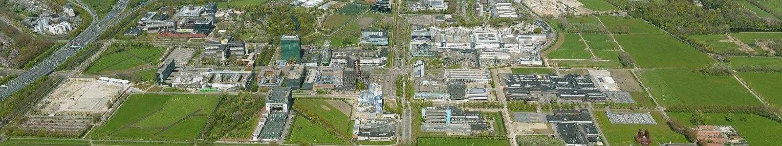 Het Utrecht Science Park vanuit de lucht