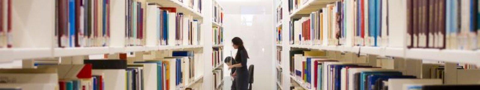 UB boekenkasten in UBB