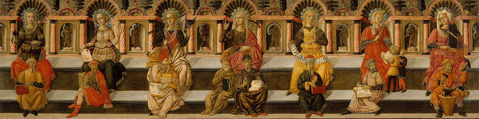 The Seven Liberal Arts - artist: Giovanni di ser Giovanni Guidi. Photo: Wikimedia Commons