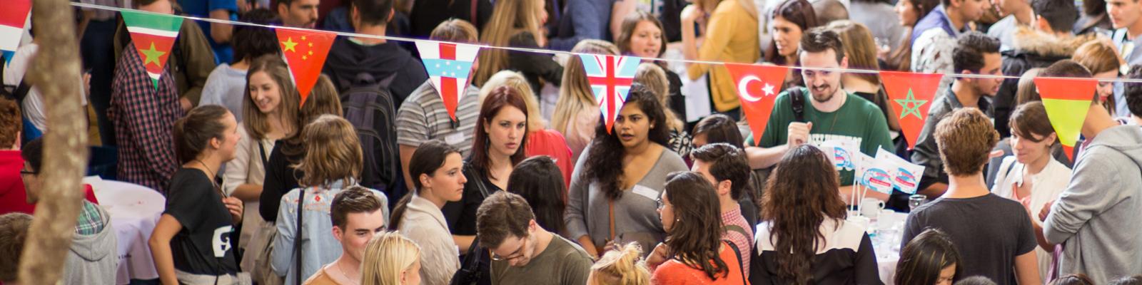 Introductie-activiteit voor internationale studenten.
