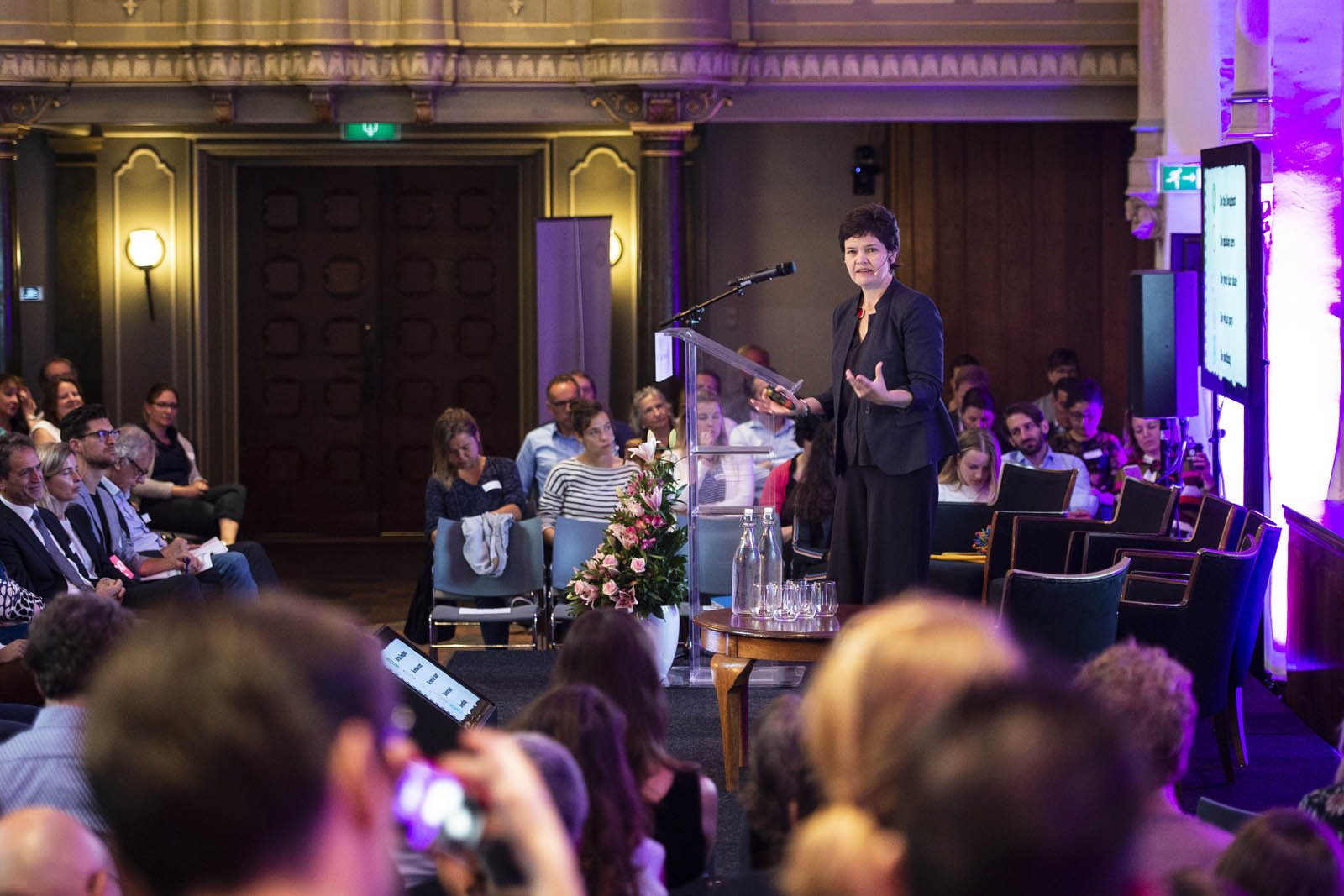 Econoom Kate Raworth spreekt tijdens het Social Entrepreneurship Festival 2018