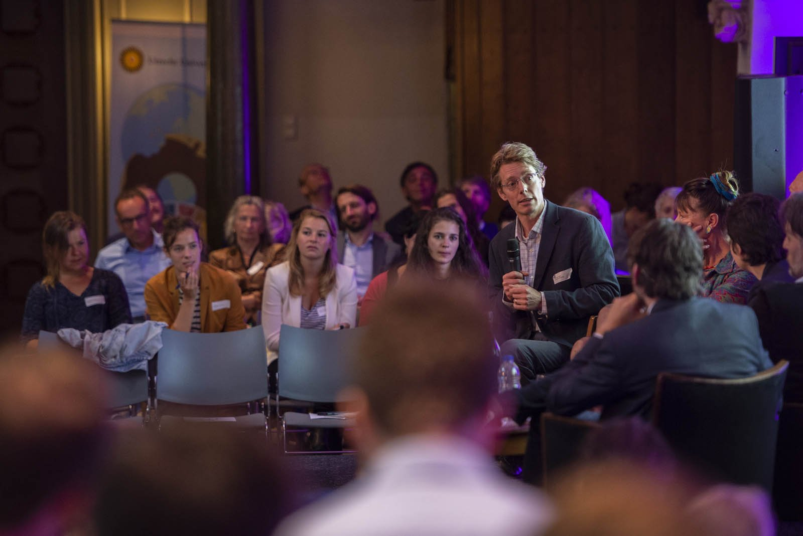 Joost de Laat, hoogleraar Global Economic Challenges tijdens het Social Entrepreneurship Festival 2018