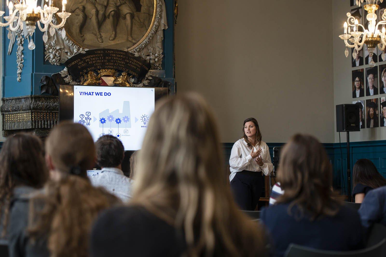 Breakout sessie tijdens het Social Entrepreneurship Festival 2018