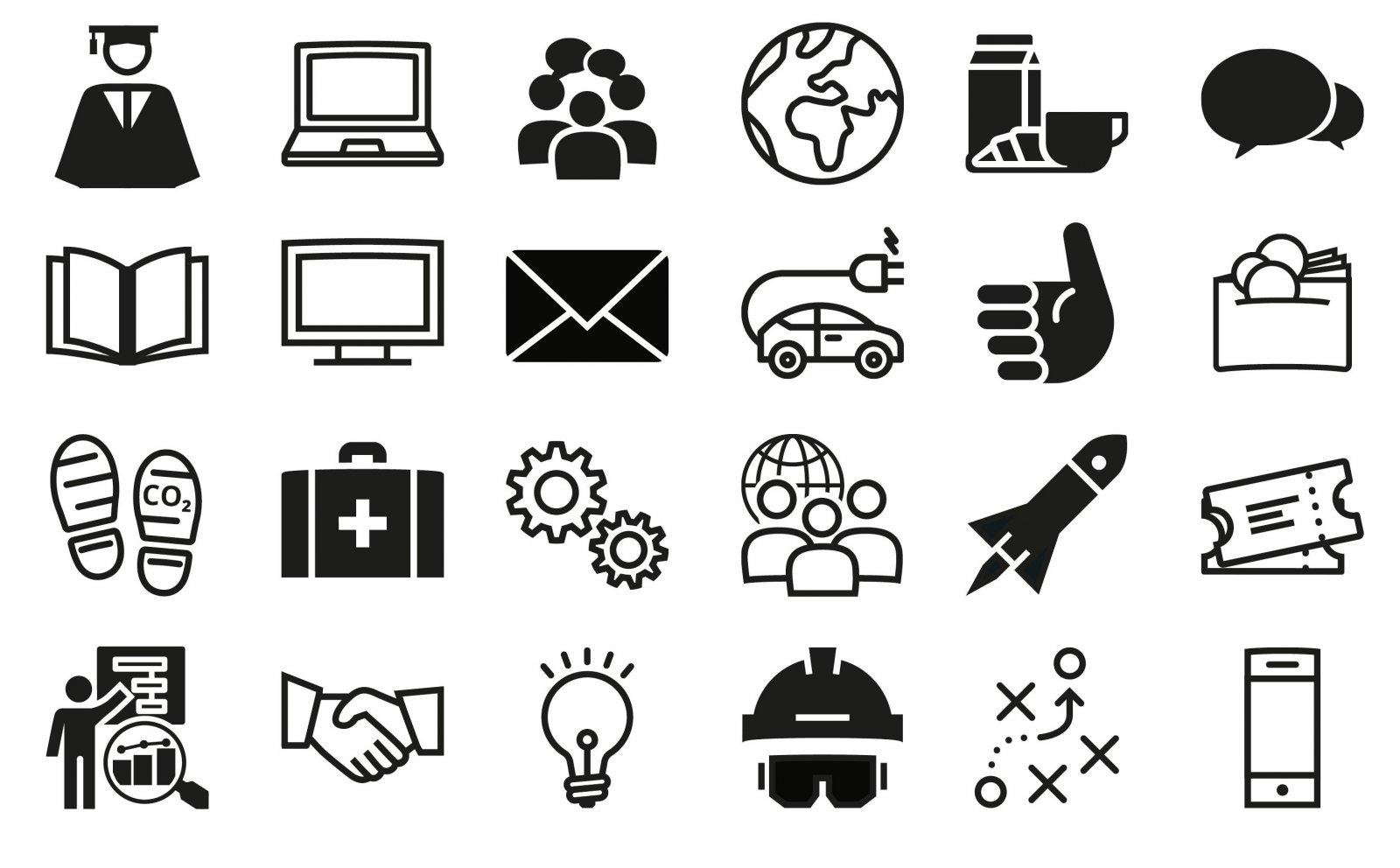 Voorbeelden iconen