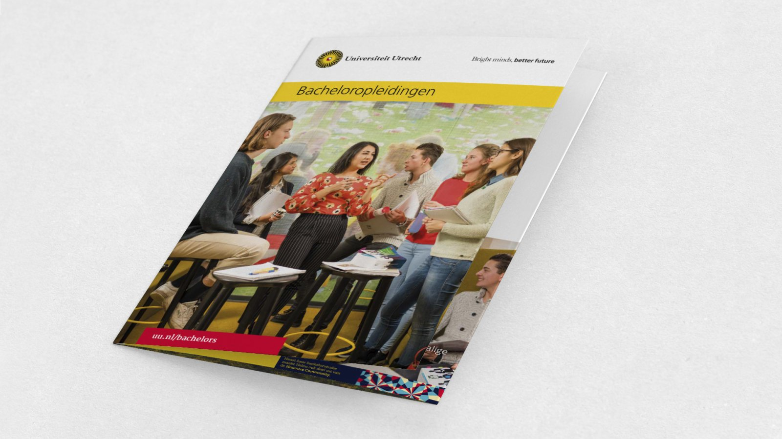 Bachelor communicatie brochure