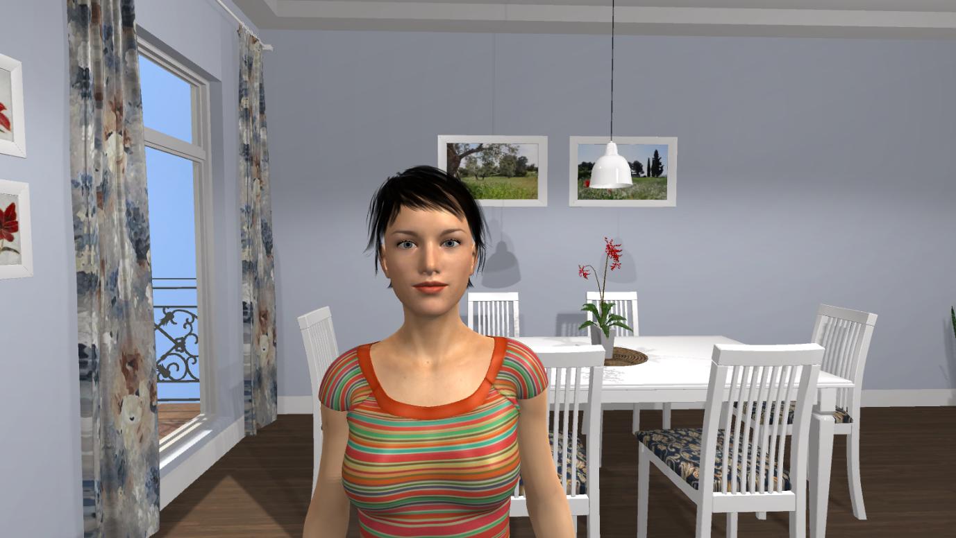 Sara: an interactive virutal human.