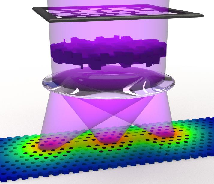 Photonic crystal chip