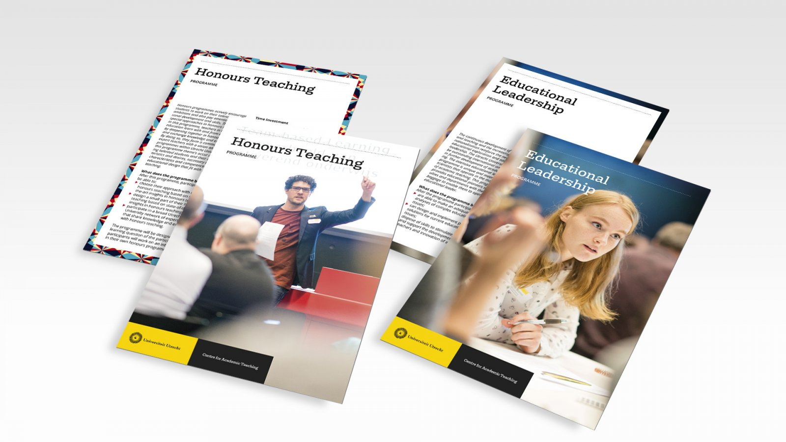 Centre for Academic Teaching flyers