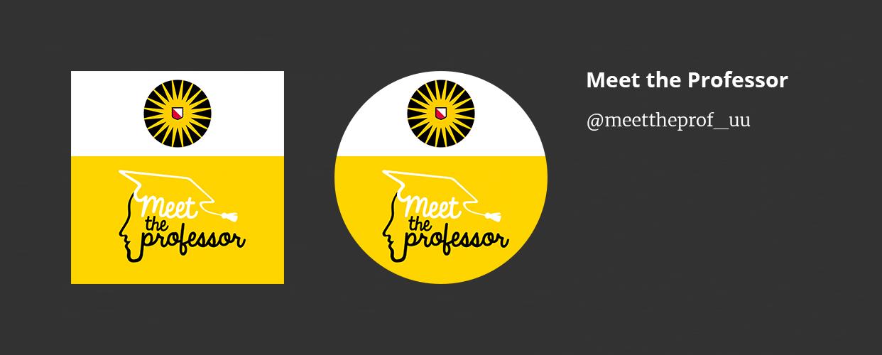Social media avatar voorbeeld: Meet the Professor