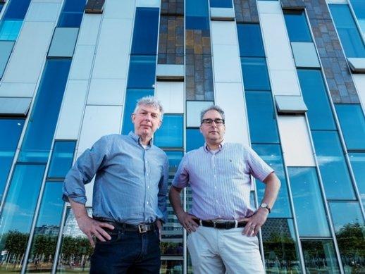 Jaap Wagenaar en Marc Bonten